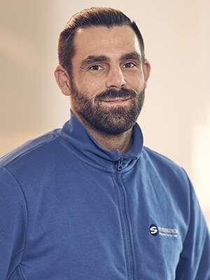 Teammitglied Kundendiensttechniker Micheal Haase