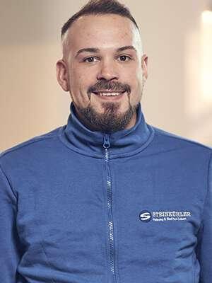 Teammitglied Installationstechniker Philipp Schmitz