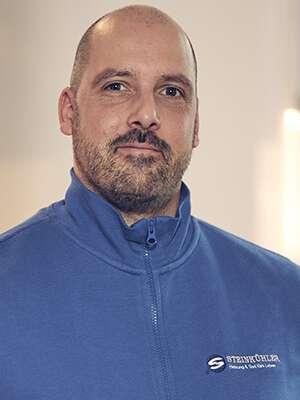 Teammitglied Installationstechniker Dominik Beilner
