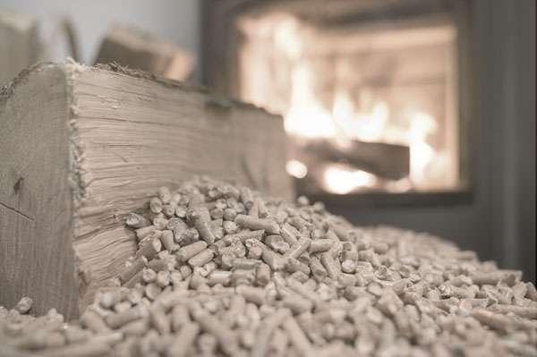 Brennholz für den Kamin