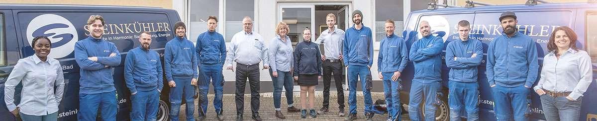 Das komplette Steinkuehler Team