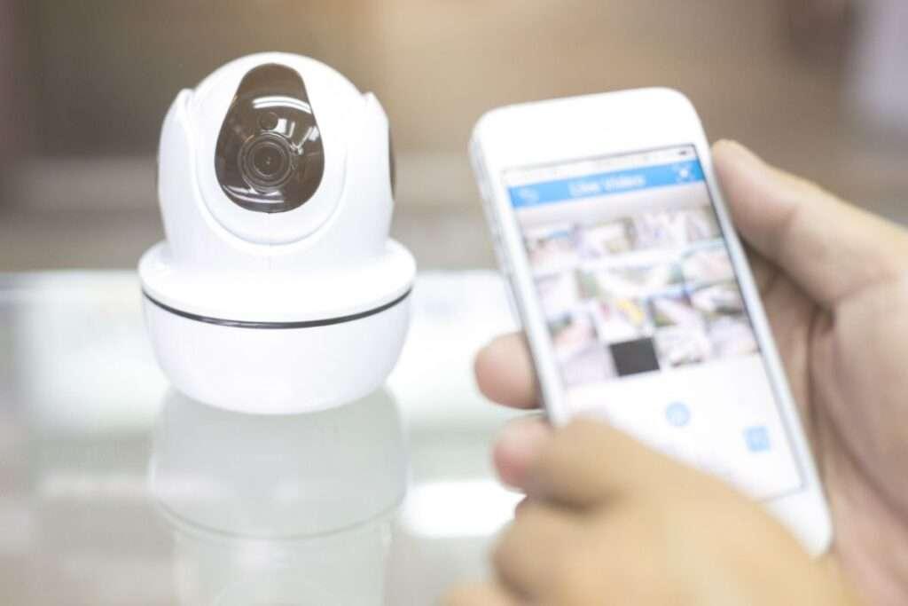 Eine Kamera die per App gesteuert wird