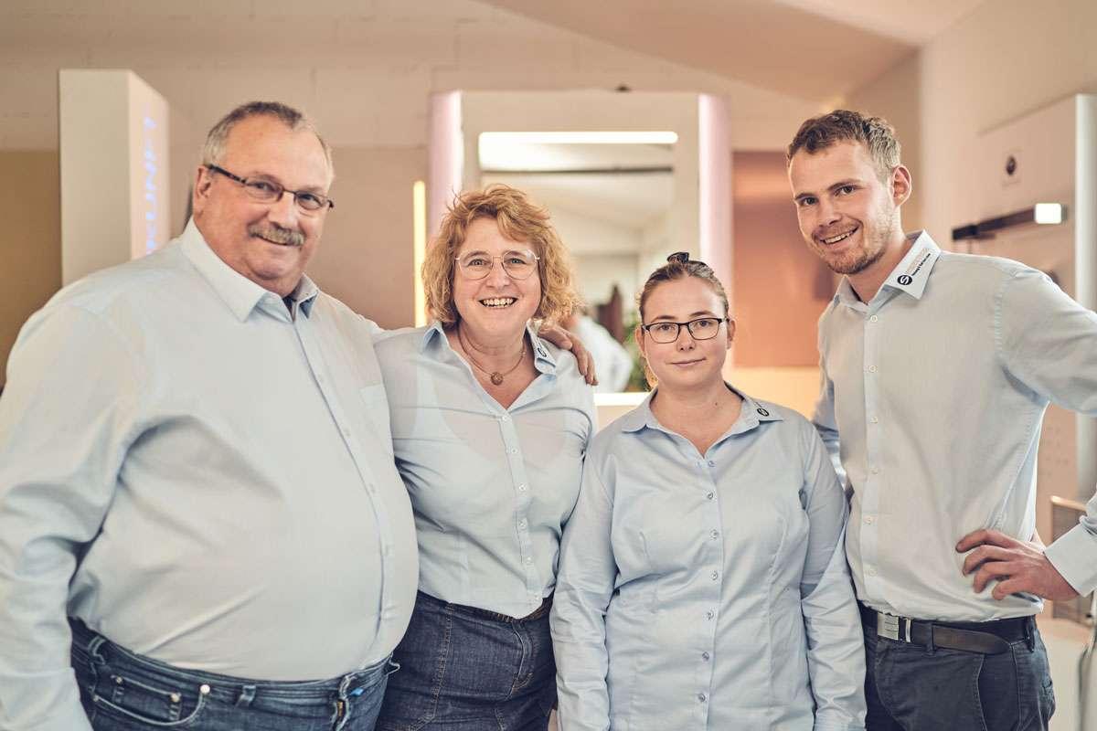 Familie Steinkühler in einem Bild